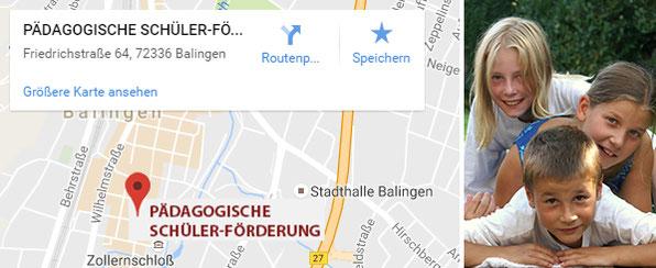 Pädagogische Schülerförderung Standort Balingen
