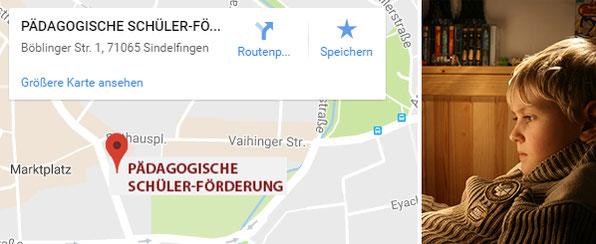 Pädagogische Schülerförderung Standort Sindelfingen