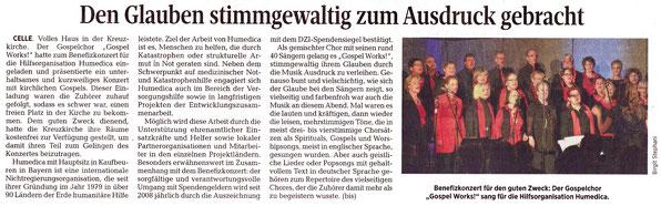 Cellesche Zeitung vom 06.11.2018