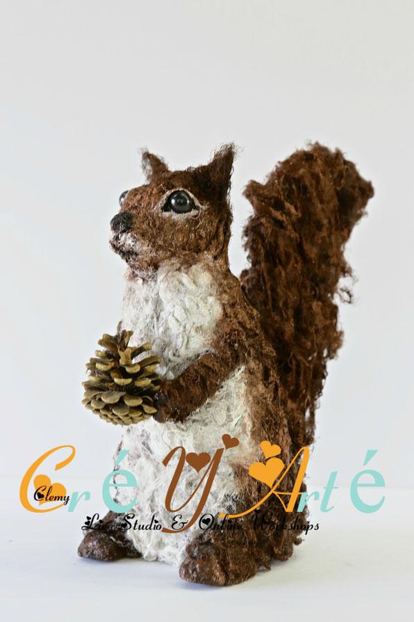 www.creyarte.be - POWERTEX - WORKSHOP - SQUIRRO