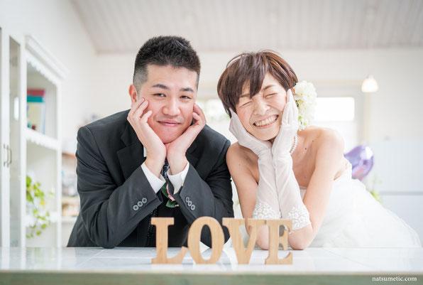 Natsumeticウェディング・結婚式・の前撮り写真(一番おすすめの一枚)
