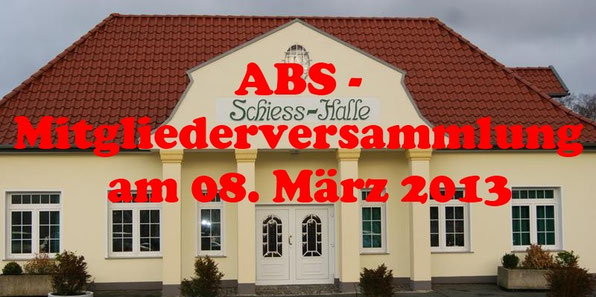 ABS-Mitgliederversammlung