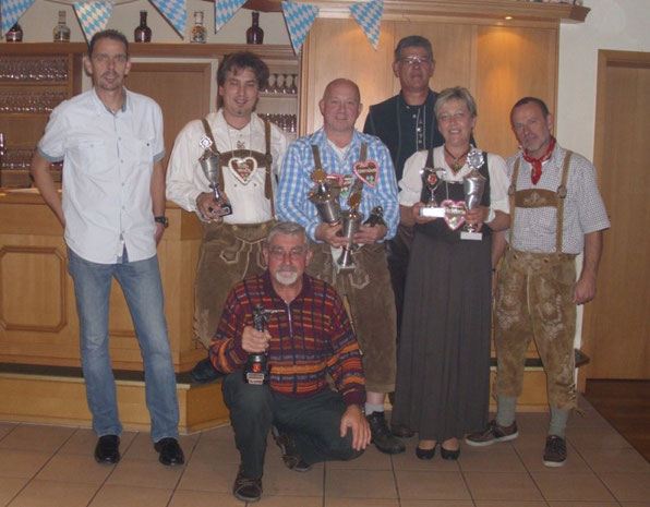 v.l.n.r.: Rtm. M.Stäbner, Ltn. T.Angermann, L.Neumann, V.Sölter, Ltn. M.Ahrens, S.Mischnick, Ltn. W.Dittrich