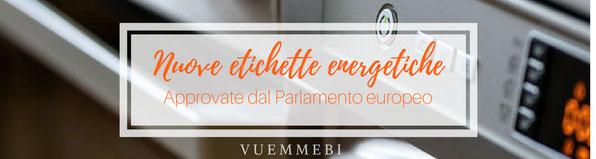Energia, impianti elettrici cagliari, etichette energetiche, novità parlamento europeo