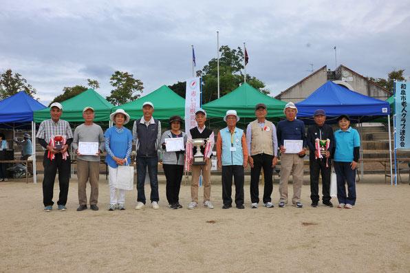第20回和泉市シニアペタンク大会上位入賞者の皆さま