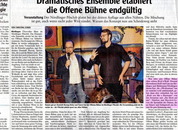 """""""Rieser Nachrichten"""", 03.02.2016"""