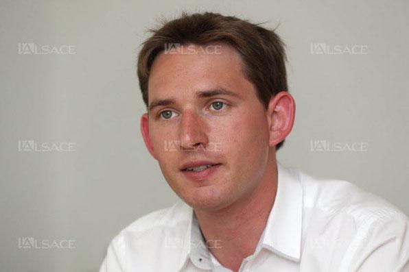 Raphaël Schellenberger, député LR de la 4e circonscription du Haut-Rhin (Thann - Ensisheim). Archives L'Alsace / Thierry GACHON
