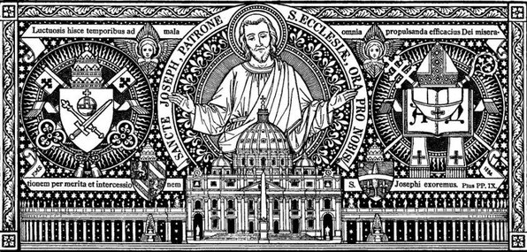 San José Patrono de la Iglesia, ruega por nosotros.