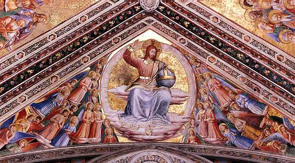 Cristo Juez – Fra Angélico – Catedral de Orvieto