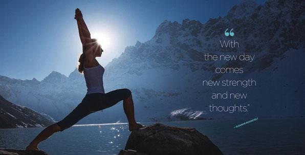 """""""Cada nuevo día, viene con nuevas fuerzas y pensamientos positivos"""""""