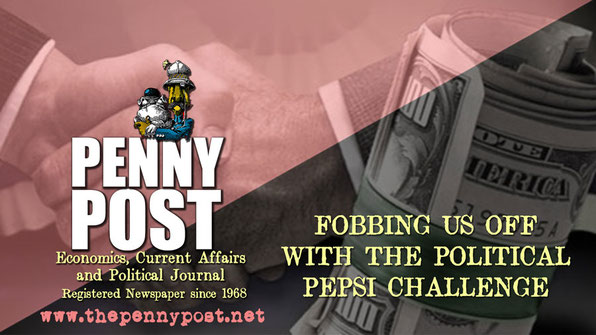 Penny Post Anarcho-journal graphic for the heading of an article