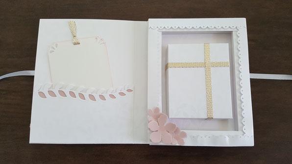 Geschenkbuch; Stampin' Up!; Firmung; stempelkiste; Buch