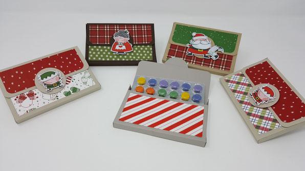 Adventkalender to go, Weihnachtswerkstatt, Stampin' Up!, Stempelkiste