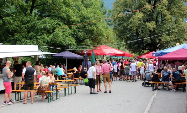 überaus gut besucht war wieder der traditionelle Steinfelder Knappenmarkt