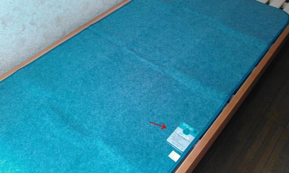 除湿シートを敷いてカビ防止