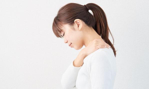 肩こりに悩む女性急増中