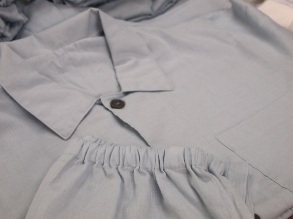 睡眠環境・寝具指導士の店長も使用中のパジャマ