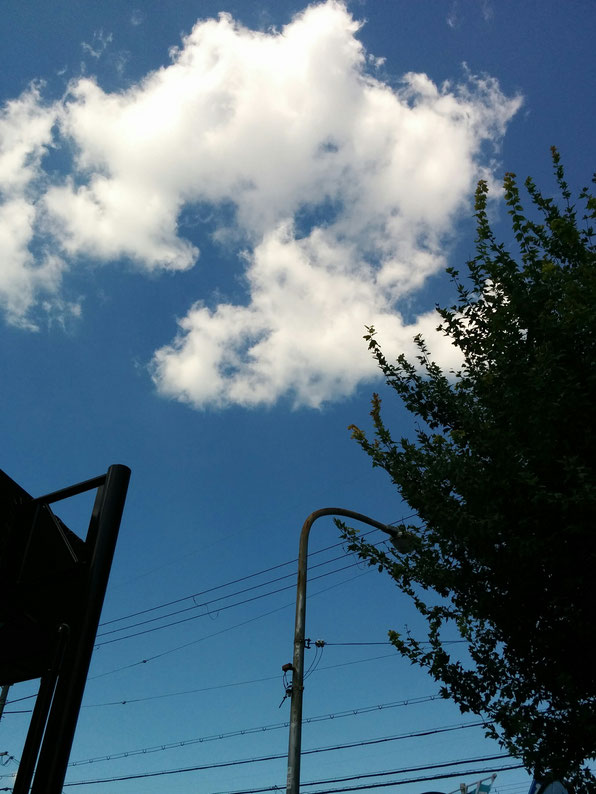 気持ちいい青空