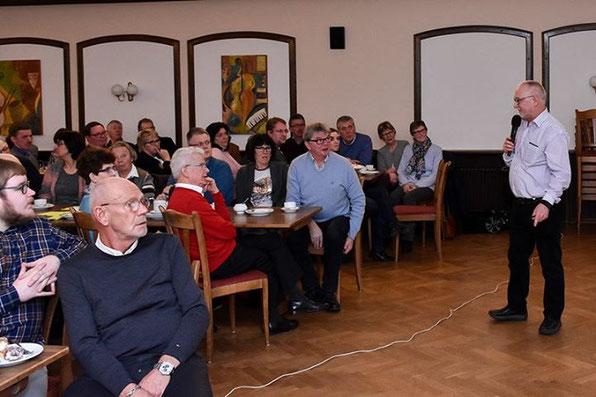 Eine gemeinsame Aktion vom Ortschronisten Heinrich Vollmer, der Gemeinde Holdorf und des Heimatvereins Holdorf