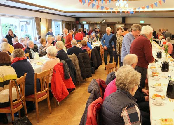 Fastnachtwanderung 2020 - Kaffee und Kuchen im Saal Böckmann. Weitere Bilder folgen in den nächsten Tagen!