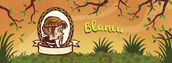 """Die Hauptdarstellerin """"Blanca"""" aus dem Buch """"Club der Heldinnen"""""""