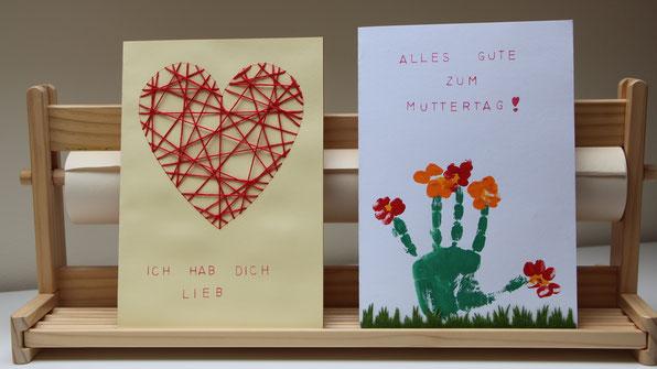 zwei Muttertagskarten