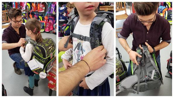 Schulranzenkauf: Auf die richtigen Gurte und Polsterungen kommt es an