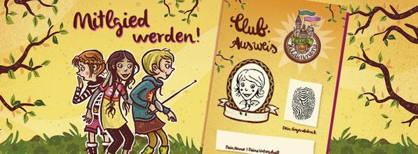 """Mitgliedsausweis für den """"Club der Heldinnen"""""""