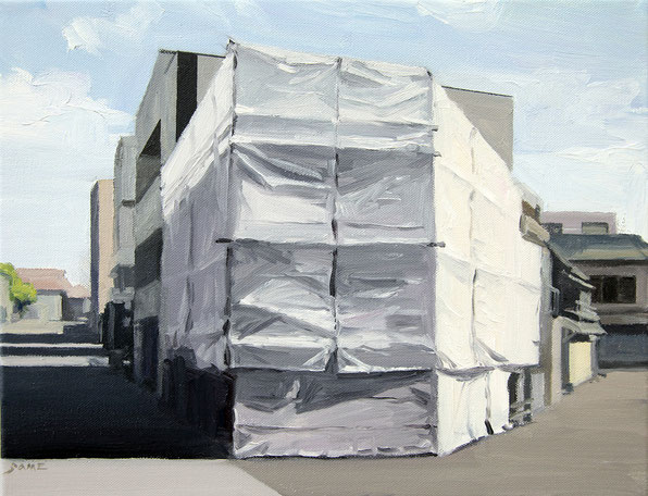 Daisuke Samejima / cover / 31.8×41.0cm / oil on canvas / 2010