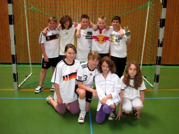Mannschaft der Klasse 6b