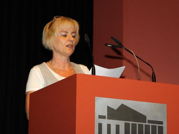 Frau Simone Zemski, Vorsitzende des Schulelternbeirates