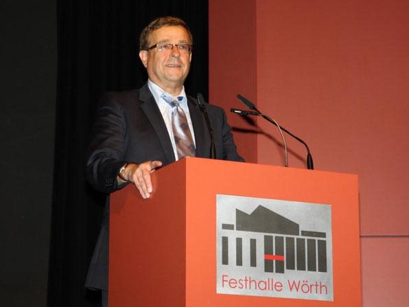 Herr Harald Seiter, Bürgermeister der Stadt Wörth
