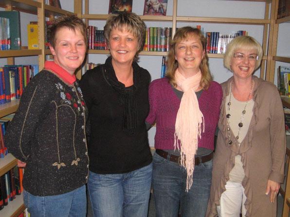 v.l.n.r.: Frau Sen, Frau Fischer, Frau Werner, Frau Zemski