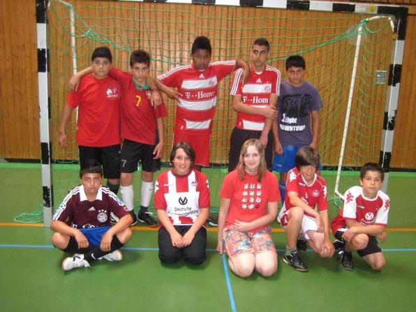 Mannschaft der Klasse 6c