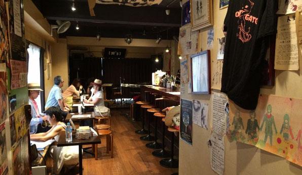 渋谷幡ヶ谷「36°5」の店内の様子