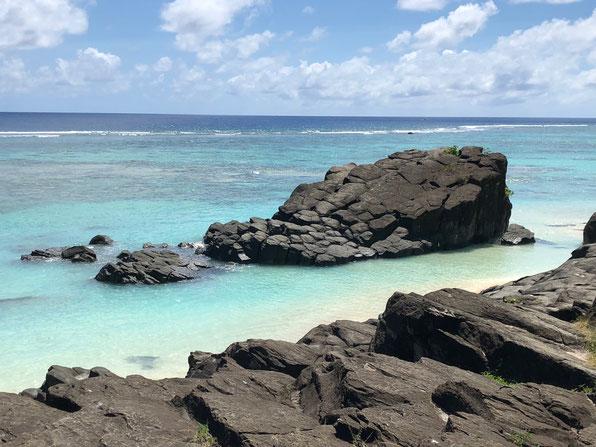 Tuoro, Black Rock, Swimming at the rock, Black Rock Rarotonga,