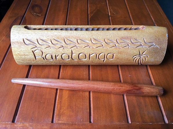 Cook Island Pate, rarotonga drum,