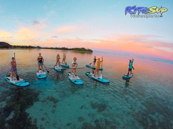 KiteSUP, watersports Rarotonga, Yoga, SUP Yoga, Kayak,