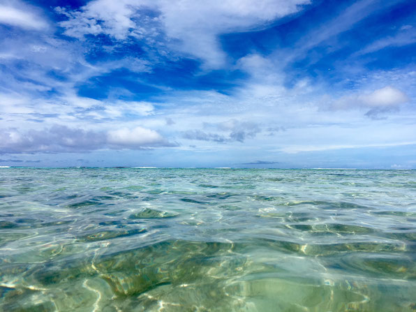 Snorkel in Rarotonga, snorkeling, Blue lagoon, crystal clear, pristine waters,
