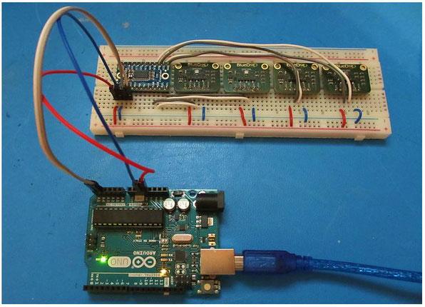 Connecting Multiple Sensors using an I2C Multiplexer - BlueDot Sensors