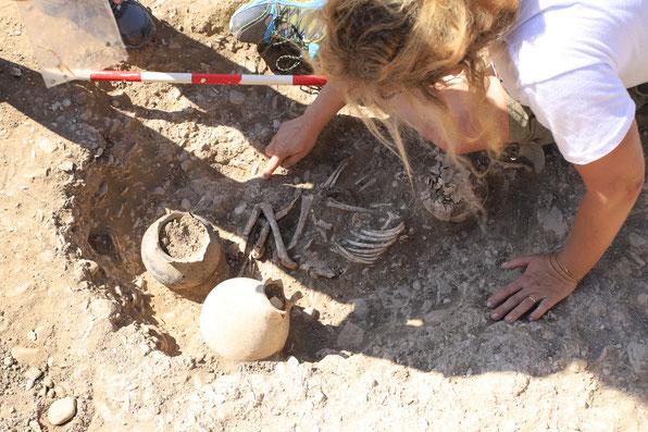 Archäologie Georgien Ausgrabung