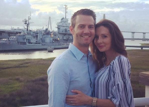 Elisa mit ihrem Pfälzer Mann Kevin