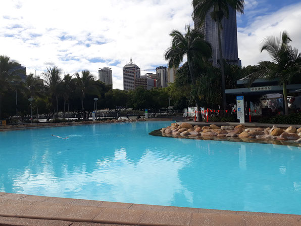 Lagoon South Bank Brisbane Queensland Australia