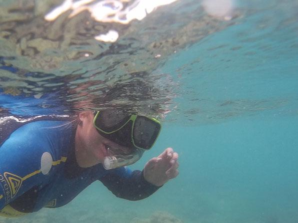 Snorkling Sailing Whitsunday Islands Queensland Australia