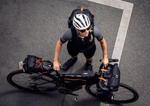 Ortliebs neue Fahrradtaschen-Serie fürs schlechte Wetter.