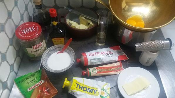 Zutaten Spaghetti mit Spargelsauce