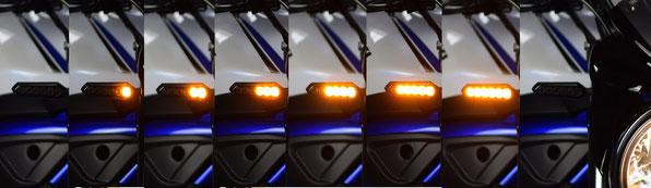 SUZUKI SV 650 LED Blinker Lauflicht, SORA