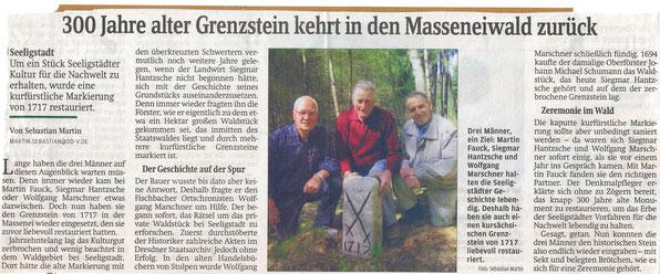 Bild: Teichler Seeligstadt Chroniki 2011