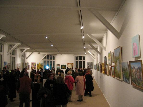 Vernissage du salon des artistes du XXe au Pavillon Carré de Baudouin - Grande salle (2007)