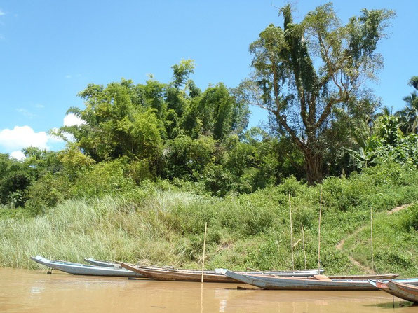 slow boat journey, mekong, laos